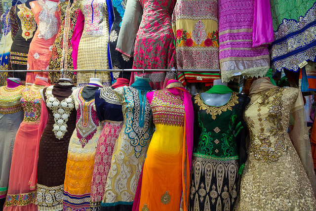 best places to street shop, Indian outfits