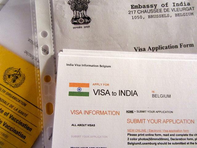 Indian Tourist VISA, Visa application process for India