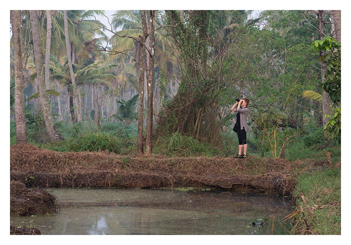 In and around the blissful Backwaters! India Someday guests enjoying their Kerala holiday