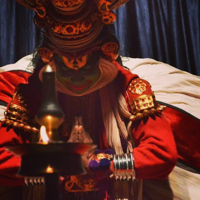 South Indian Kathakali Dance Performance in Kerala