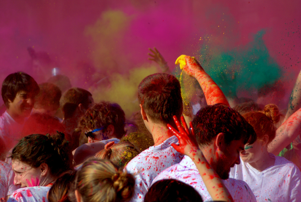 Meilleurs moments pour partir en Inde - Holi -Photo by rudresh_calls @ Flickr