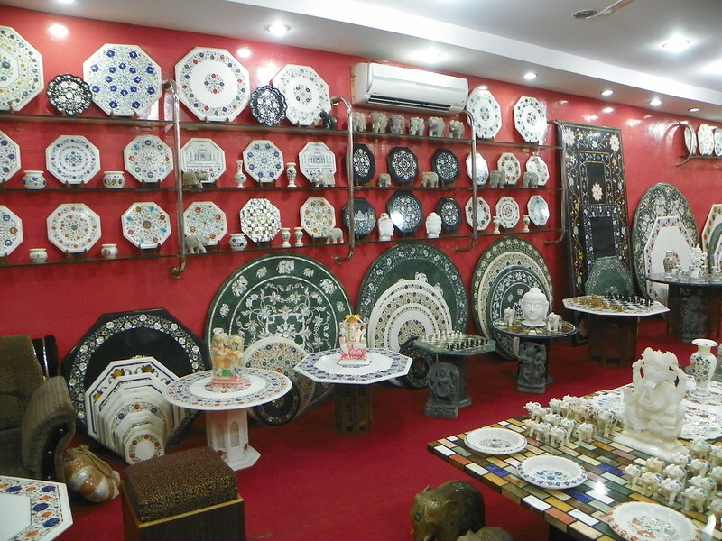 Inlay Marble shop in India, Unique experiences in India