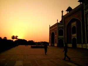 Humayun's Tomb aat Sunset