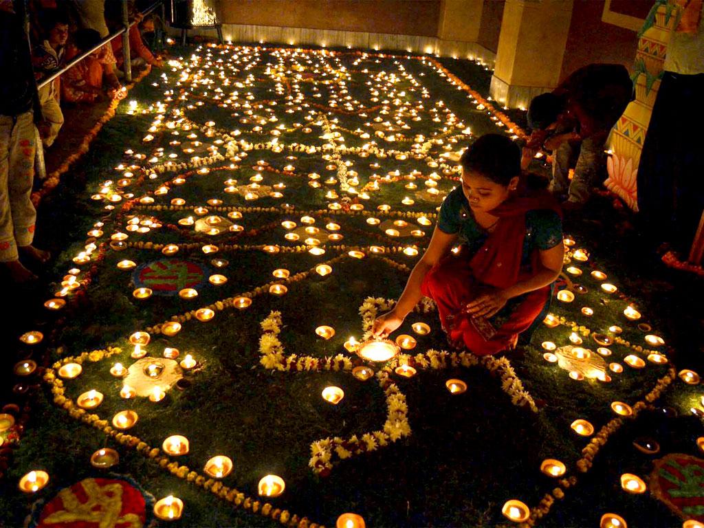 experiencing diwali festival in india