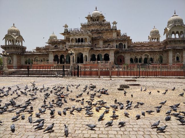 backpacking tour in rajasthan, agra, delhi, jaipur, albert hall museum