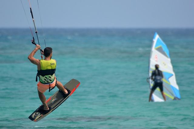 Kite Surfing Goa, trip to south india