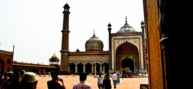 backpacking tour in rajasthan, budget backpacking tour north india, delhi, jama masjid