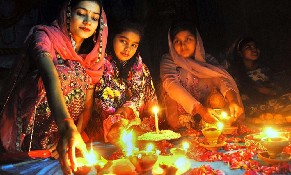 Diwali is the festival of lights, the biggest holiday for Hindus.