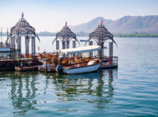 Udaipur lake, Backpacking routes in North India, why backpack in India