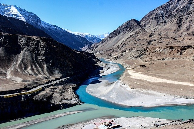 shades of grey and blue, Adventure tours in North India