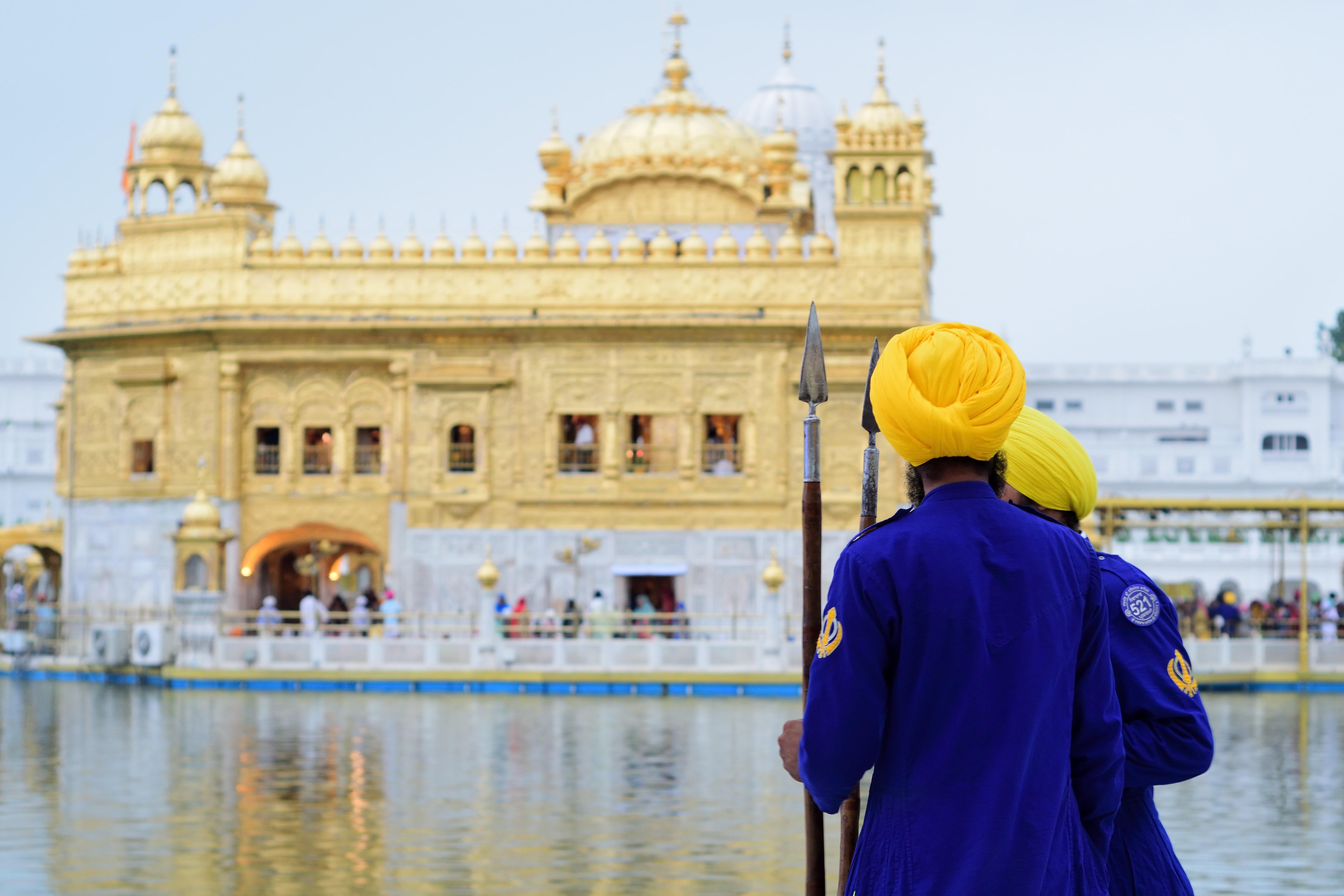 Divine and pure gold, Golden temple, Spiritua;l places in North India