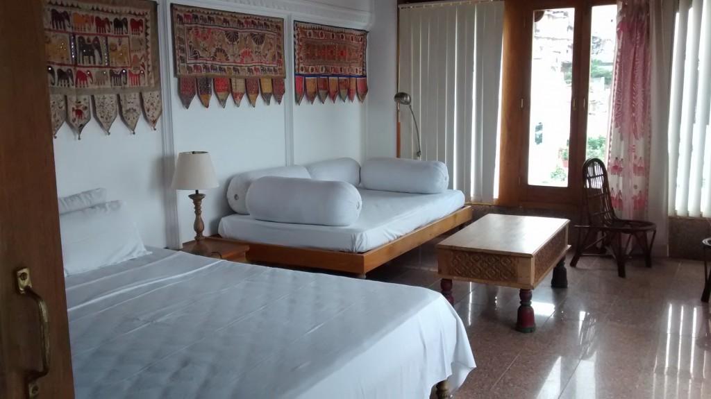 Spic and Span room @ Kankarwa Haveli