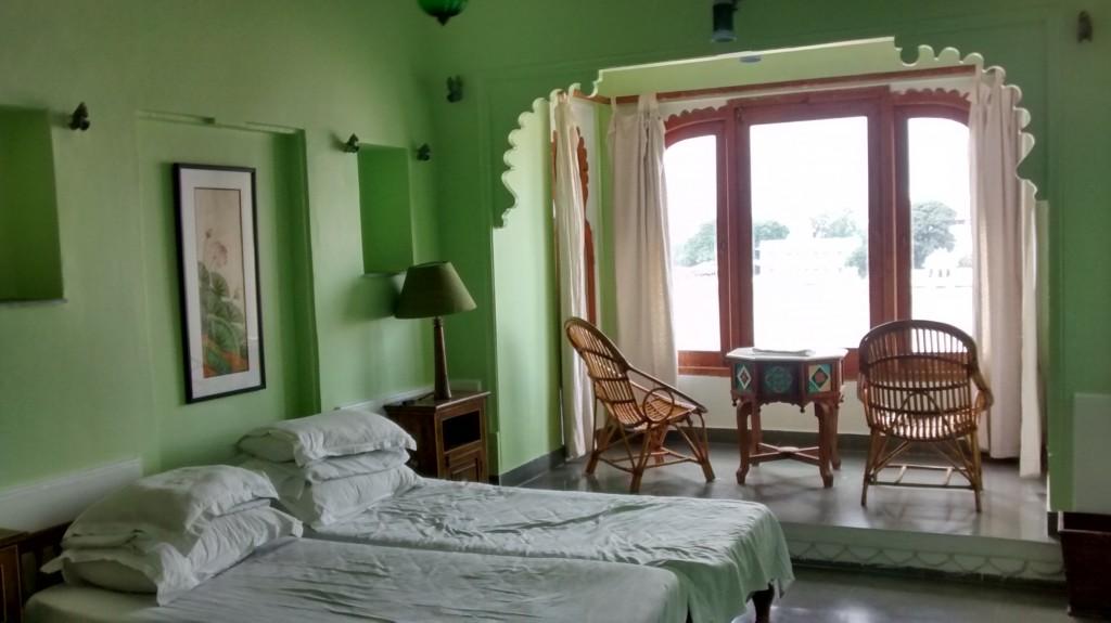 Lake Front room @ Kankarwa Haveli