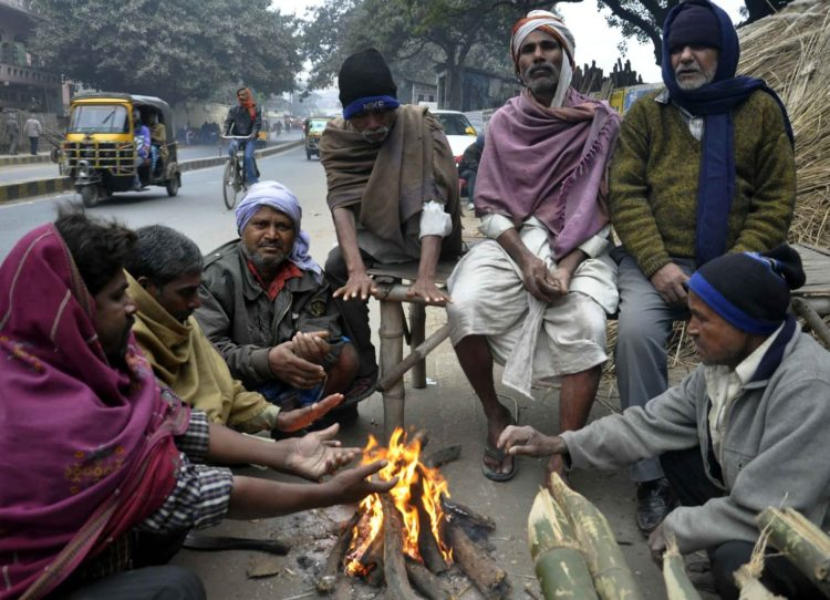 GET INDIA READY GUIDE -Le temps qu'il fait en Inde au mois de janvier