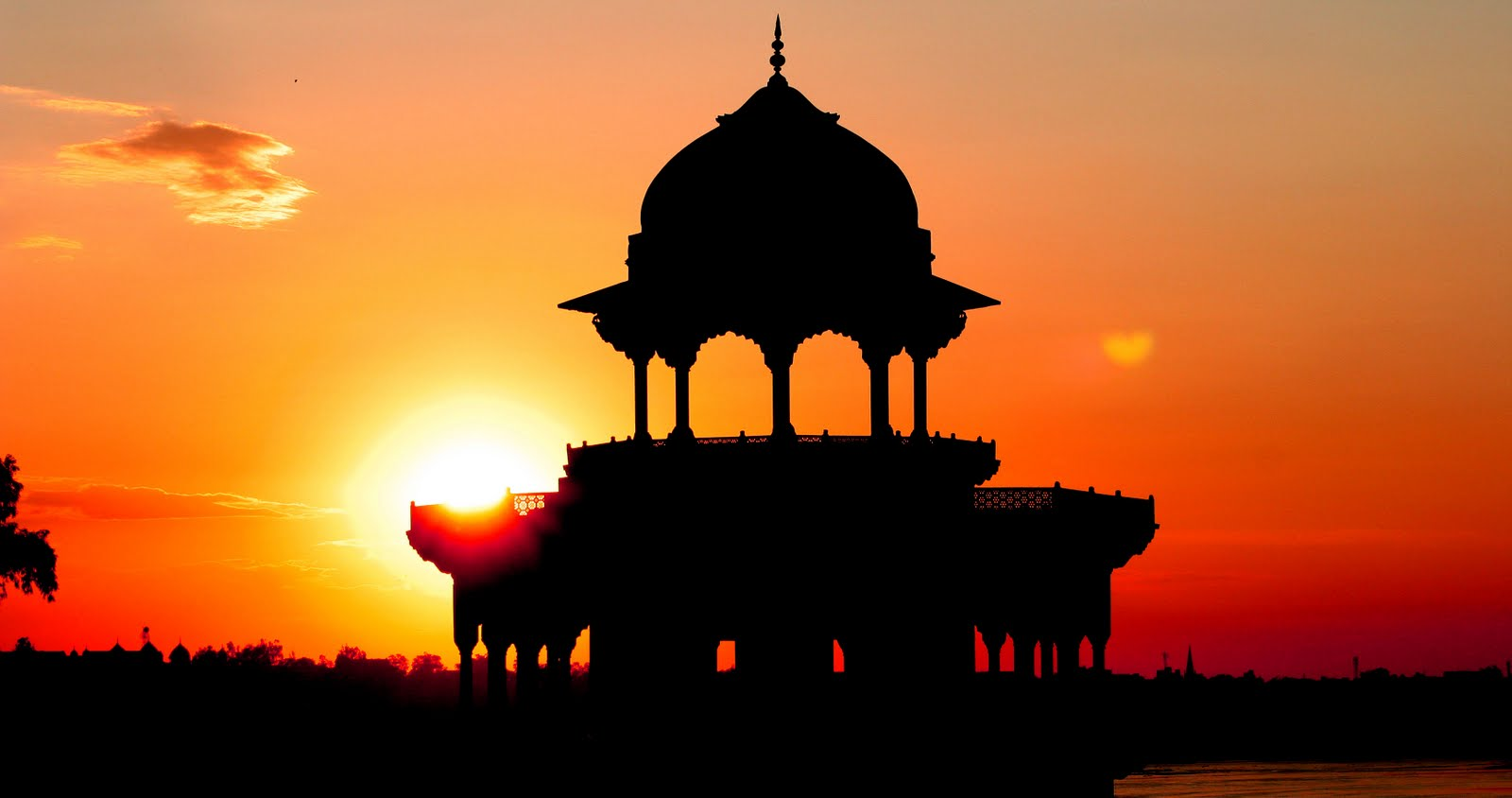Sunset, Red Fort