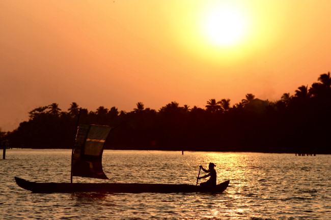 Individualurlaub in Indien: Die Backwaters in Kerala