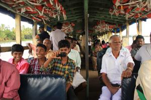 Local Ferry in Kerala