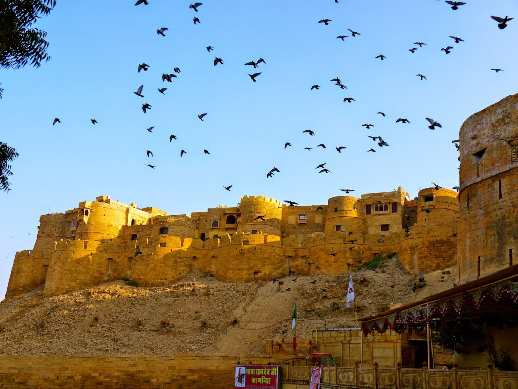 Jaisalmer fort, Forts in India, North India