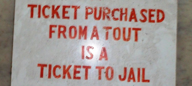 Dealing With Touts in India