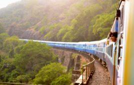 Zugfahren indien