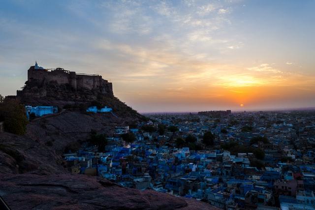 Best sunrise spot in Jodhpur