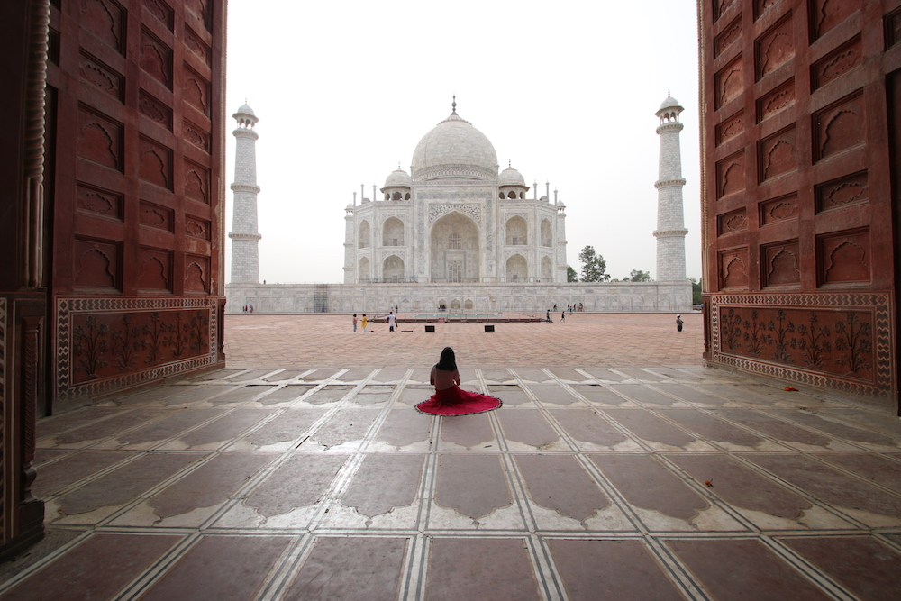 taj mahal, best cities to fly into, agra, north india