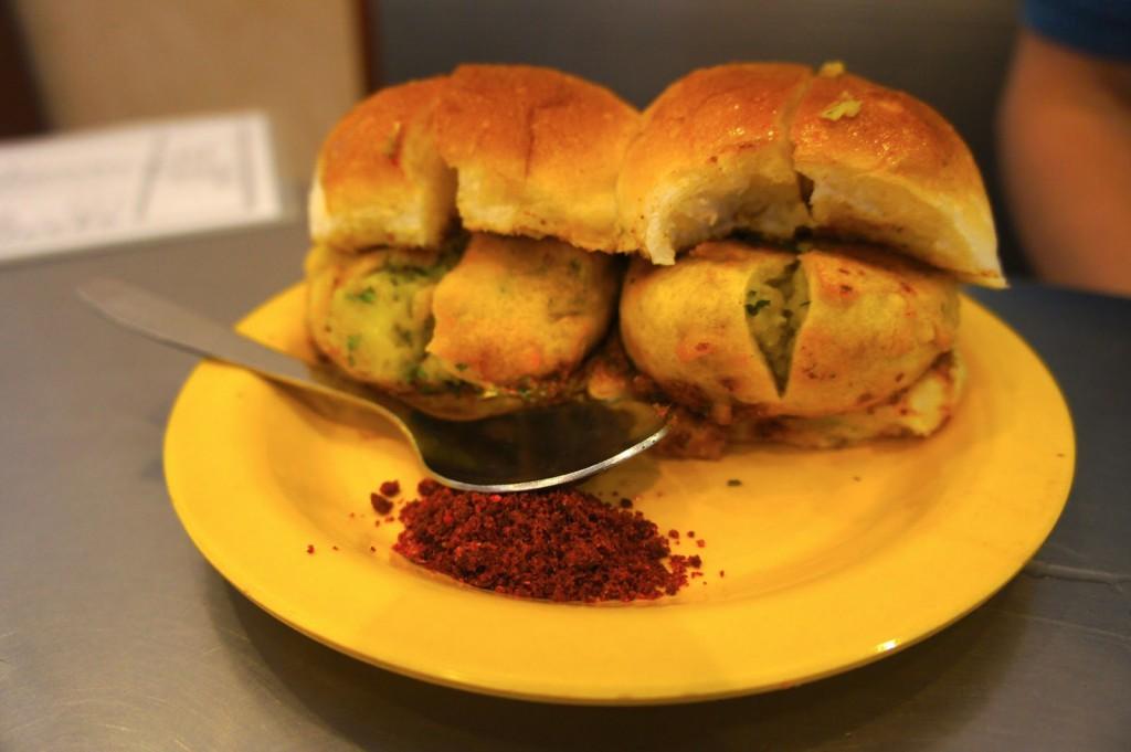 The King of Mumbai's Street food. The Vada Pav!