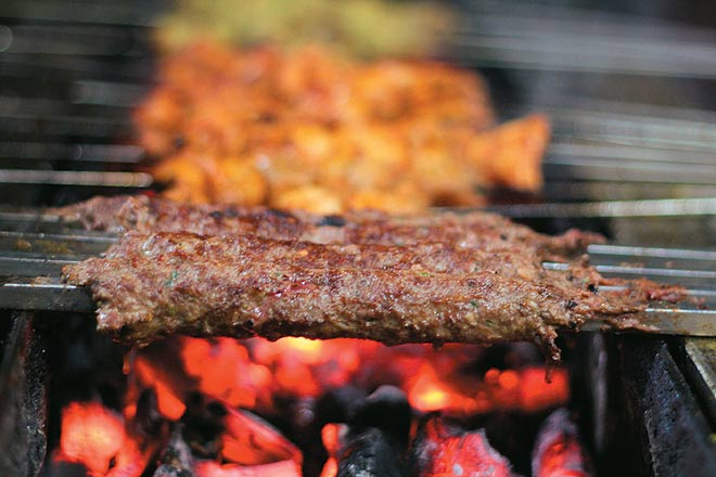 Kebabs!! A favorite amongst Vegetarians and Non-Vegetarians alike