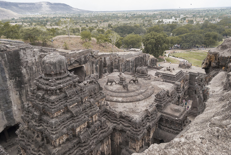 Ellora caves, aurangabad - UNESCO world heritage site