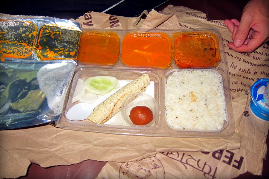 Food on India Trains