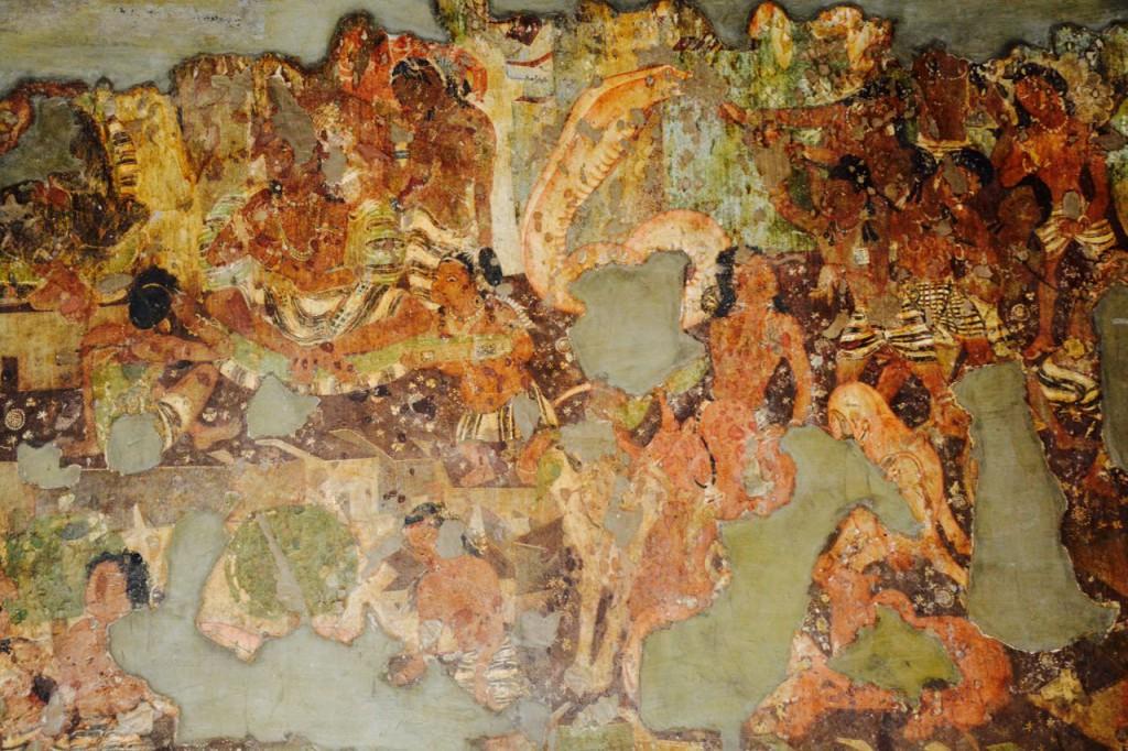 Ajanta höhlen fresken