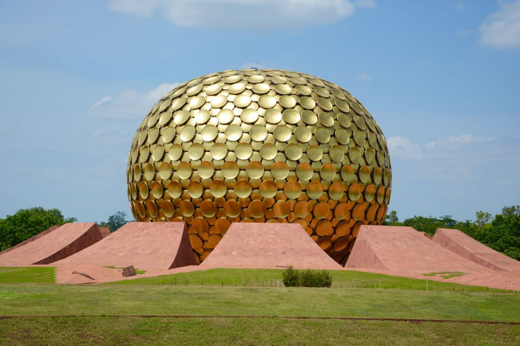 Auroville_MatriMandir, indien reiseziel