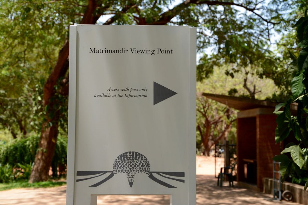 Auroville_MatriMandir_Sign_ViewingPoint