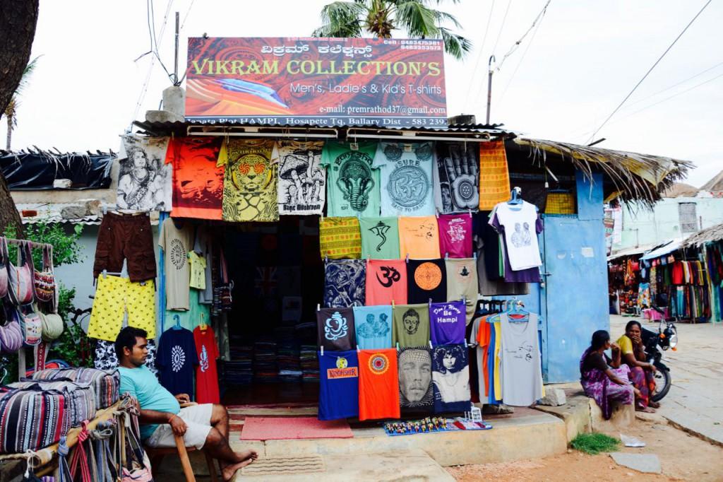 Hampi-Bazaar-T-Shirt-Shop