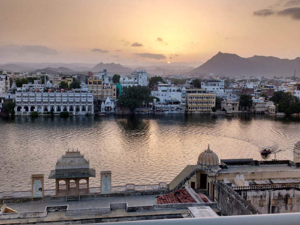 Sunset in Udaipur.