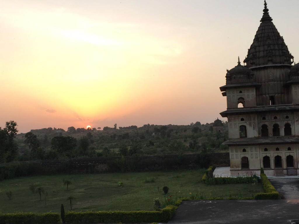 ramblinarium, orchha, india