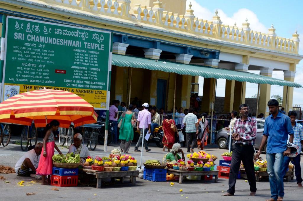Mysore-Chamundi-Tempel-Eingang
