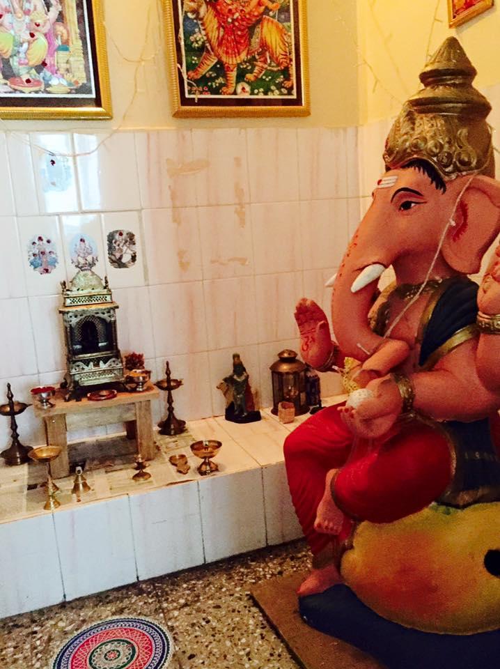 Mysore_BedandBreakfast_Altar