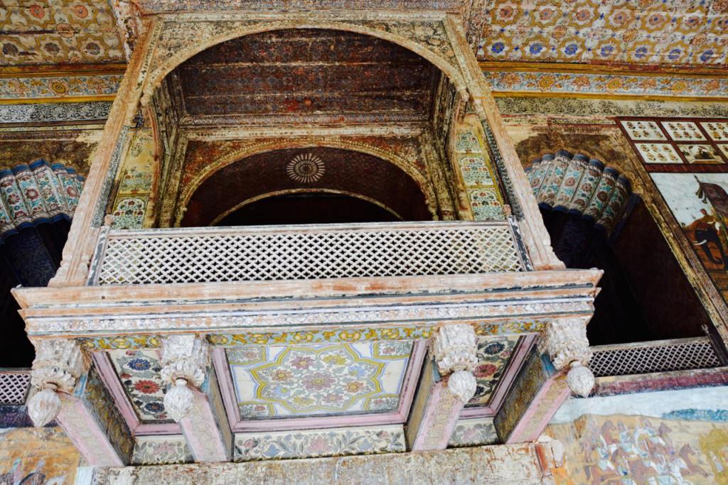 Mysore_TipuSultan_Sommerpalast-Balkon