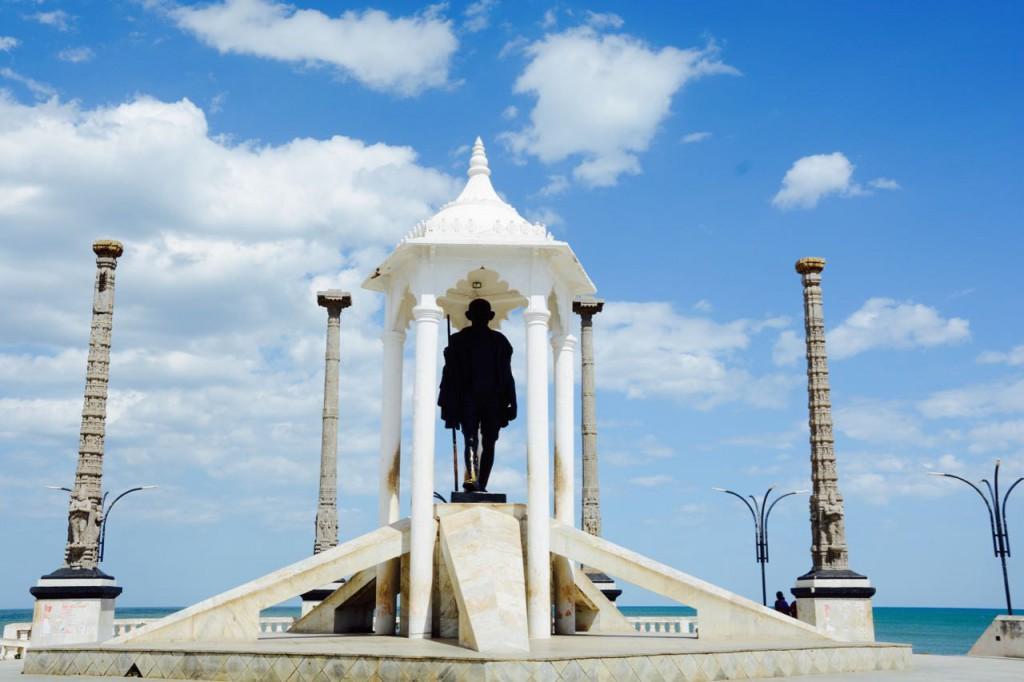 Pondicherry_Gandhi_Statue
