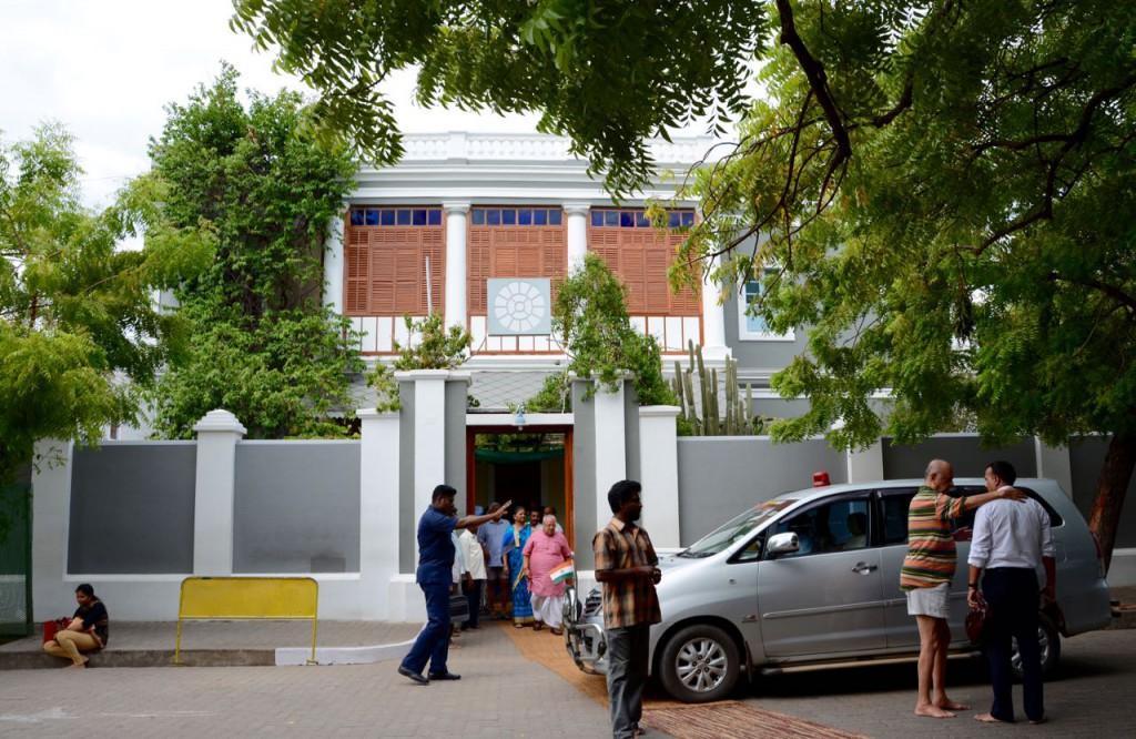 Pondicherry_SriAurobindo_Ashram