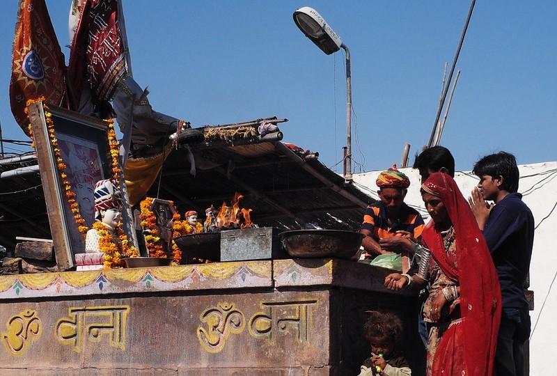 Om Banna Inde temples, Bike temple