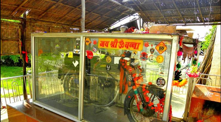 Om Banna, Bullet Baba temple