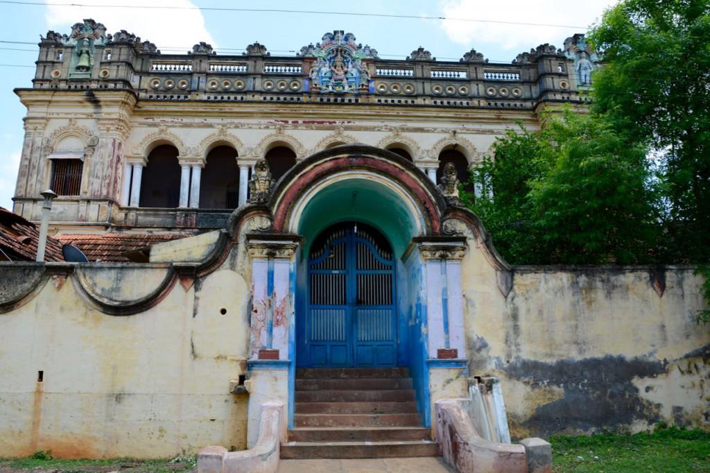Chettinad indische Architektur