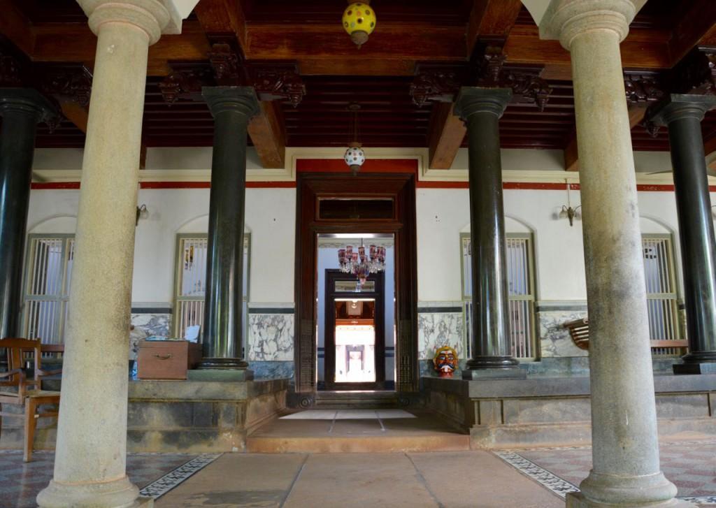 SarathaVilas, indische Architektur