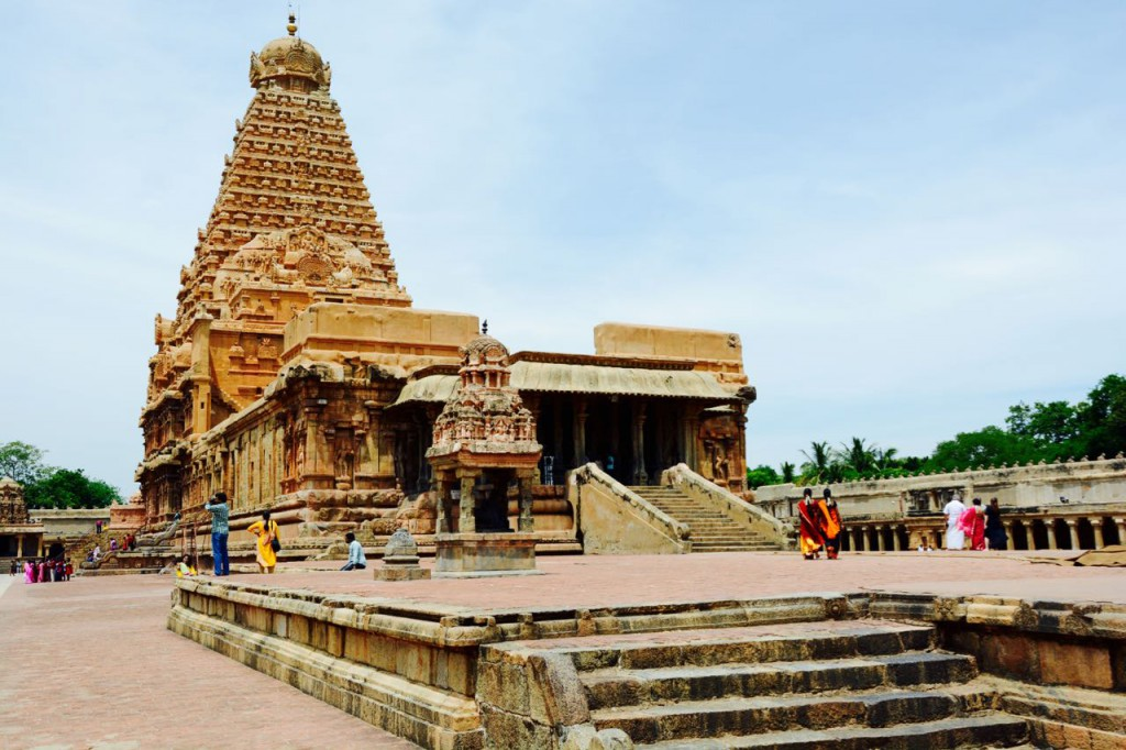 Tempel in Thanjavur, tamil nadu indien