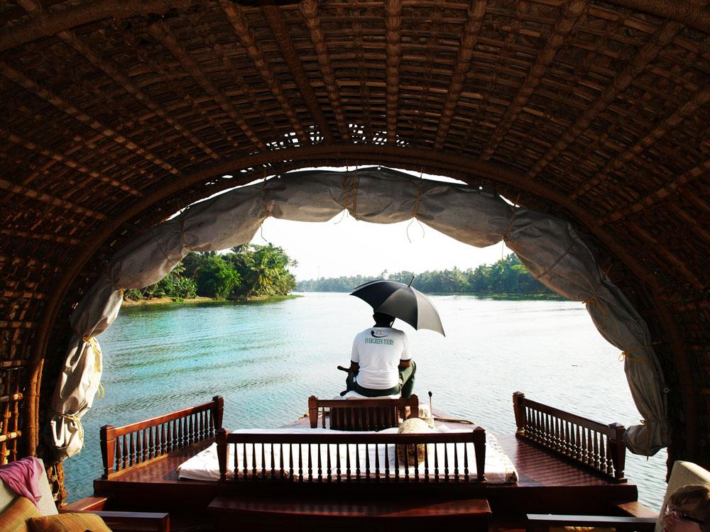 Individualurlaub in Kerala, Indien
