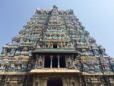 tempel in Tamil nadu indien