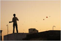 Nordindien Drachenfestival