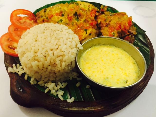 Essen-Fish-Kerala, indische gerichte